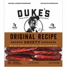 Duke's Smoked Shorty Sausages, rece...