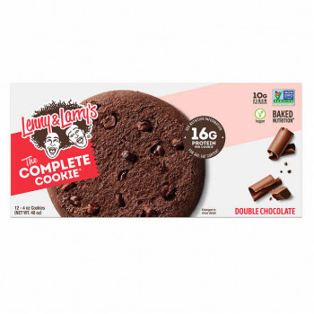 Lenny & Larry's The Complete Cookie, doble chocolate, 4 oz, 12 unidades