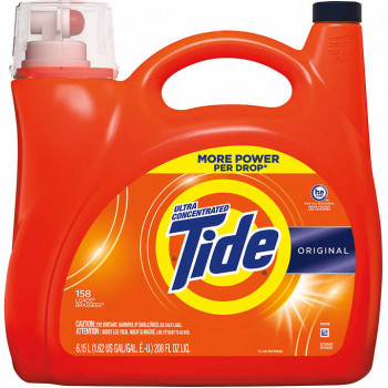 Detergente líquido para ropa Tide Ultra Concentrated HE, 158 cargas, 208 fl oz