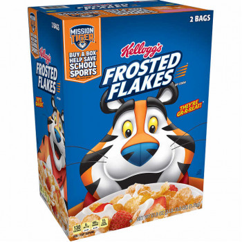 Kellogg's Frosted Flakes Cereal, 30.95 oz, 2 unidades